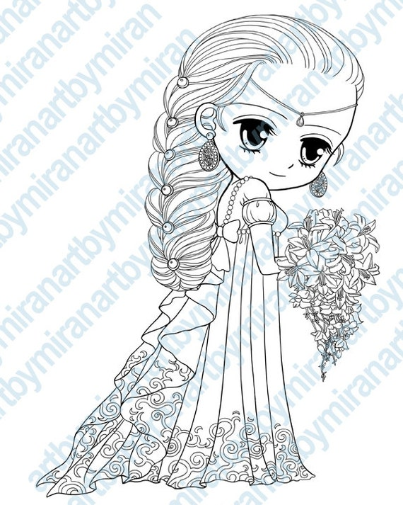 Princess Digital Sts Big Eye Doll Coloring Page By Coloring Pages Of Anime Princesses Free Coloring Sheets