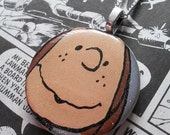 PattyPendant - Patty, Snoopy, Peanuts, Peanuts Movie, Snoopy Movie, Resin, Glitter Resin, Resin Pendant, Resin Necklace, Pendant, Necklace