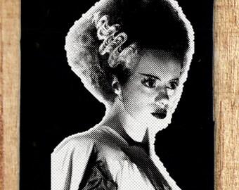 The Bride of Frankenstein, Frankenstein, Horror Patch, Punk Patch