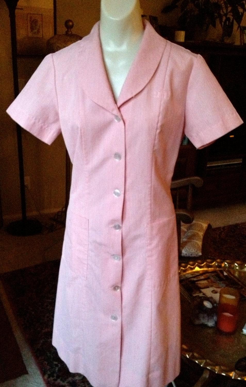 Pink Waitress Uniform 55