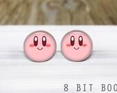 Kirby Post Earrings - Silver Stud Post Earrings - Hypoallergenic Earrings for Sensitive Ears