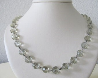 SUMMER CLEARANCE SALE-Champagne Bubbles Necklace