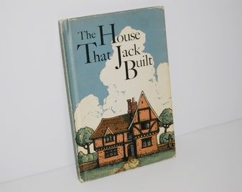 The House That Jack Built book - Vintage 1963