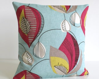 20 Inch Pillow Cover, 20x20 Sofa Pillow, Throw Pillow Cover, Pillow Covers, Cushion Cover, Pillow Sham, Pillow Case - Chandelier Raspberry
