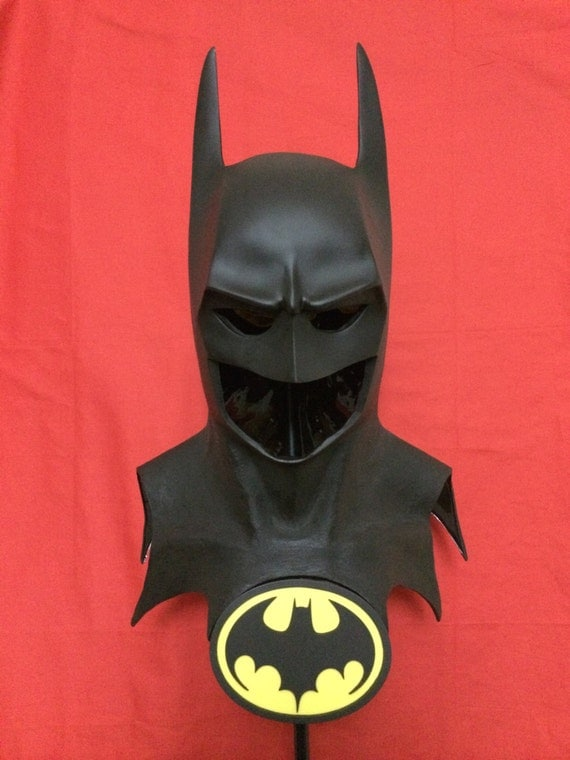 how to make a batman cowl out of cardboard