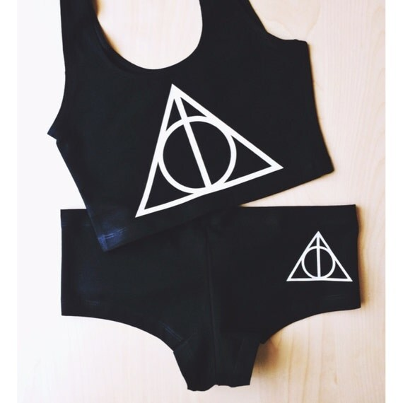 Deathly Hallows Undies - Made in USA by So Effing Cute