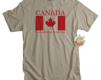 Canada Flag Shirt Canadian Tshirt Toronto Ontario Canada Vancouver British Columbia T shirt Canada Clothing