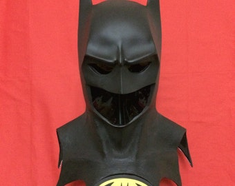 Batman 89 / 1989 Style Cowl Mask with or without emblem - Prop for your Costume - Dark Knight