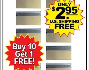 11 New Unused Single Edge #9 Wrapped Razor Blades Utility Scraper U.S. Ships FREE!