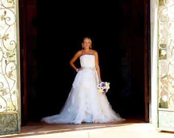 Gorgeous Custom Wedding Dress Handmade to Your Measurements