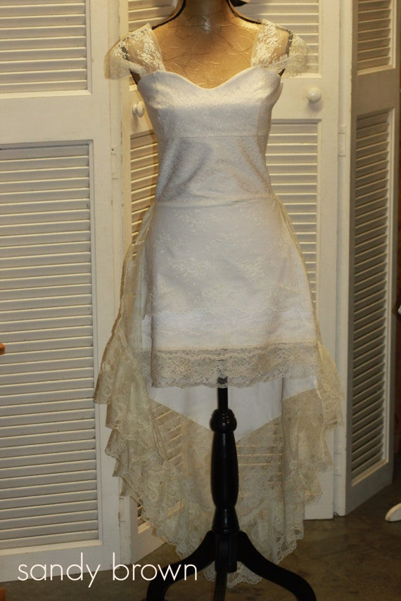 Wedding Dress // Karen Fairchild - Little White Church // Lace // Romantic // Made to Order // Custom // Country Western