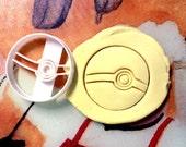 Pokeball Pokemon Cookie Cutter