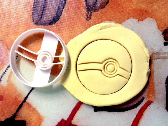 Pokeball Pokemon Cookie Cutter - Made from Biodegradable Material