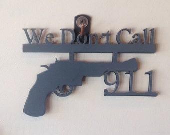 We Don't Call 911 - Wall Art