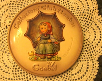 M J Hummel Goebel Collector's Club Plaque Exclusive Special Edition #2 from 1978