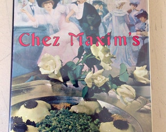 Chez Maxim's Gourmet Recipes McGraw-Hill, 1962 First Edition Hard Cover