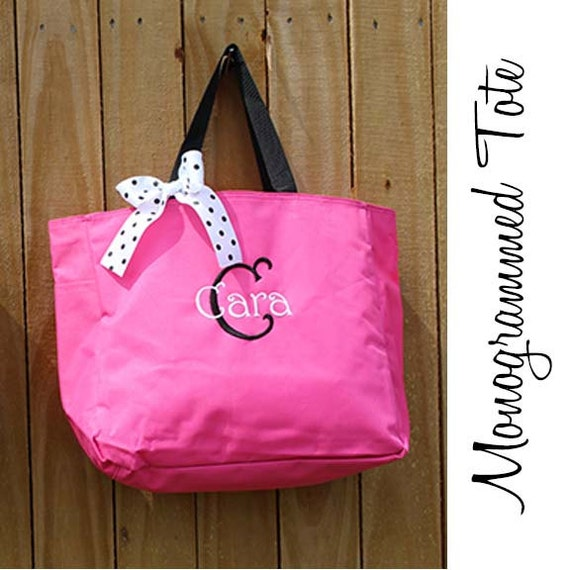 Personalized Bridesmaid Gift Tote Bag By PersonalizedGiftsbyJ