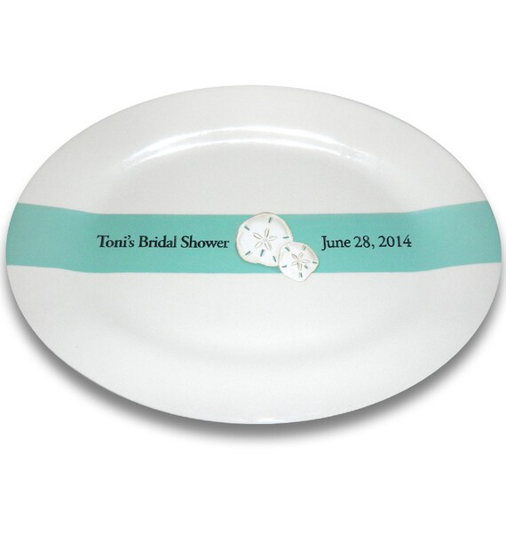 Sand Dollar Beach Wedding Signature Platter