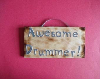 Awesome Drummer!  sign