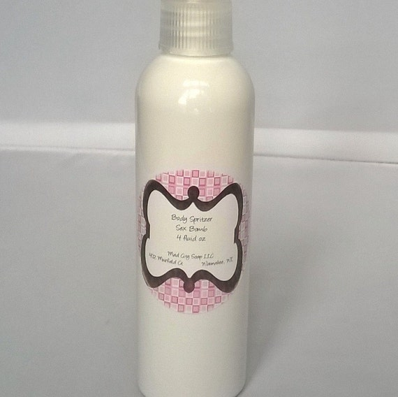 4 oz Body Spritzer Moisturizing Body Spray Custom Scented