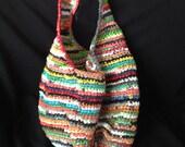Upcycled Hobo Bag