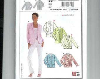Burda Jacket Pattern 8201