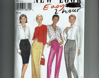 Simplicity Misses'  Skirt and Pants  Pattern 6445