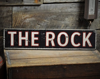 Personalized Wooden Sign - Rustic Hand Made Vintage Wooden Sign ENS1000319