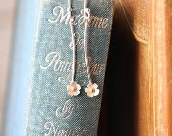 Handmade Daisy Drop Earrings