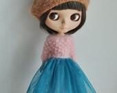 Babydoll TUTU Skirt for Blythe-Teal