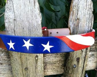 4th Of July Collar - Patriotic - Dog Collar - Flag