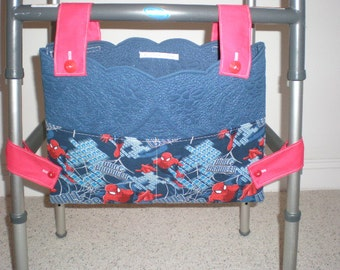 Spiderman Print Walker Bag