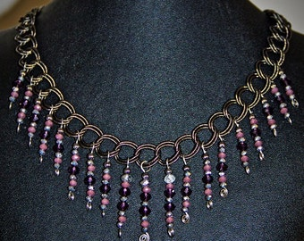 The Violet Spike Necklace