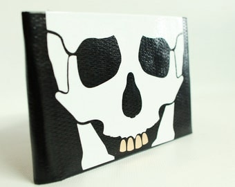 Bones and Bling Duct Tape Wallet - by jDUCT