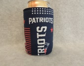 Can or Bottle Cozie   Patriots