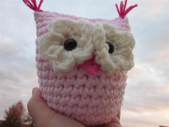 Pink Owl Plush