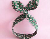 Dolly Bow Headwrap-Cherry Blossom