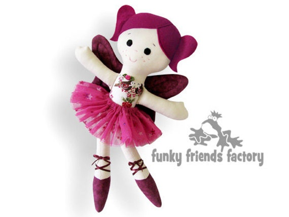 Doll Sewing Pattern Sugar Plum Fairy Ballerina PDF INSTANT DOWNLOAD