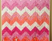 wee wander zigzag quilt kit