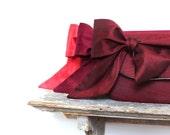Burgundy Wedding. Red Wedding. Monogram Clutches. Custom Name. Bridesmaids Gifts. Wedding Gifts for Bridesmaids. Winter Wedding. Ruby Rose