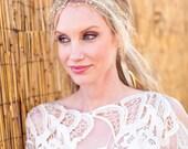 Pearl Vine Halo - Bridal Headpiece - Bridal Halo - Hair Vine - Bridal Tiara - Bridal Crown - Wedding Hair - Bridal Crown