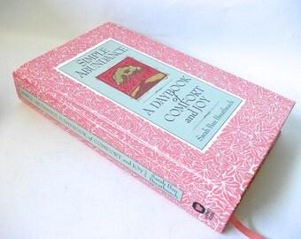 Hollow Book Safe Secret Keepsake Compartment Box, Simple Abundance Daybook of Comfort and Joy