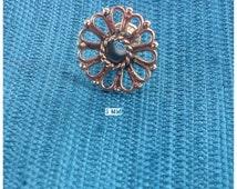 Rajistani Flower • Brass Plug • 3 MM • Earring