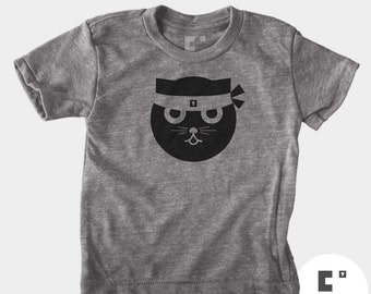 Kung Fu Watson the Cat - Boys & Girls Unisex TShirt