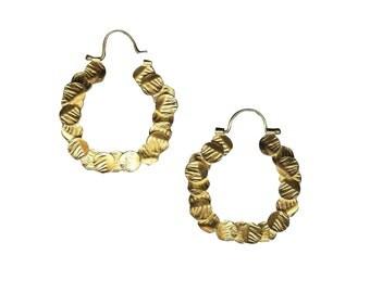 100 Circles Gold Hoop