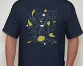 Sale- Men's Moby Mobile T-Shirt (dark blue)