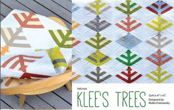 Klee's Trees Quilt Pattern