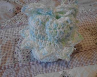 Blue And Green Variegated Cupcake Bag