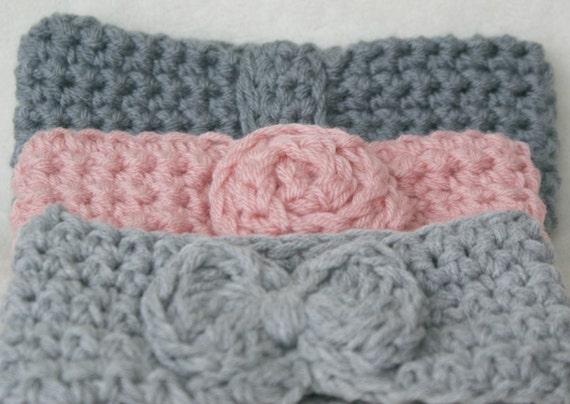 Items similar to Crochet PATTERN - Ear warmer in Child to ...