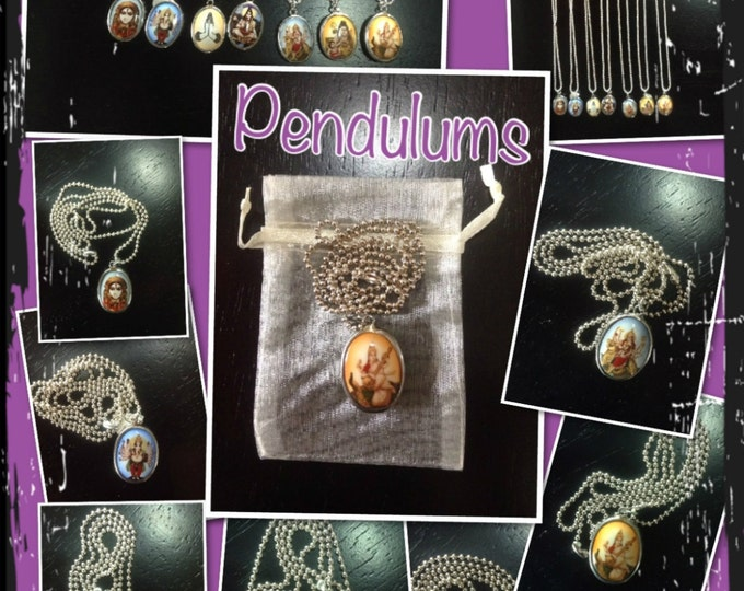 Pendulum Necklace *Hindu Deity Pendulum Necklace *Yoga Pendulums *Om Pendulum